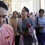 緬甸大選》翁山蘇姬見國會領袖 軍方承諾和平轉移政權