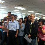 陳建仁拜訪民進黨中央 「副總統好」聲不斷