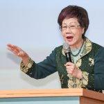 520就職演說如何論述?呂秀蓮建議蔡英文辦公聽會