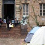 「威爾遜是種族主義者」 普林斯頓大學學生抗議要求校方移除肖像、建築物改名