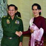 翁山蘇姬會見總統及軍事首長 承諾完成緬甸史上首次民主政權轉移