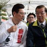 謝長廷為李慶元站台:放下過去 才能擁抱未來