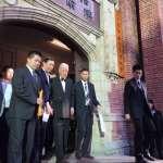 前總統李登輝小中風後首度露面 出席孫女李坤儀婚禮彩排