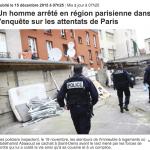 巴黎恐攻又有一嫌犯落網 唯一存活主嫌仍然在逃