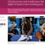 「約僱、低薪、裁員」西班牙魯蛇悲歌 就業議題成國會大選主戰場