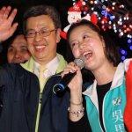 陳建仁為吳思瑤造勢,助選兼歡渡聖誕節