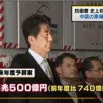 日本防衛經費首次突破5兆日圓 日媒:因應中國威脅