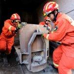 中國山東石膏礦場坍塌2天後 老闆驚傳墜井死亡