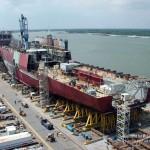 美國反對、國防部掣肘 海軍「弘運計劃」先建造兩棲船塢登陸艦