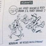 諷海邊3歲伏屍小童恐成為性犯罪者 法國《查理周刊》惹眾怒