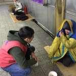 10年最強寒流》地方政府動起來,為街友提供住宿、衣物