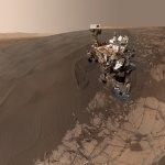 來自2億公里外的自拍照!火星「好奇號」向地球人問好
