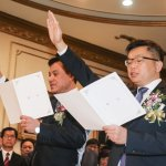 「把國會還給人民」 蘇嘉全宣誓就職 宣布辭去黨職