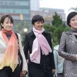 「民進黨S.H.E」一起走紅毯 三姝要繼續為台灣社會奉獻