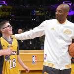 NBA洛杉磯湖人隊終於簽下「新人」了……一位與癌症搏鬥的18歲少年