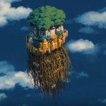 荷蘭藝術家把宮崎駿「天空之城」電影的奇幻場景,變成一座座真實版的小島
