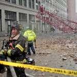 紐約市巨大起重機於上班尖峰時間倒塌 造成1死3傷