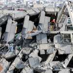 大地震》維冠金龍大樓倒塌是因一樓牆面梁柱較少?燦坤:未做任何樑柱結構整修異動