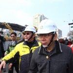大地震》柯文哲:只要台南市需要東西,台北就直接支援下去