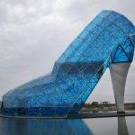 「以高跟鞋為造型的最大建物」布袋高跟鞋教堂申請金氏世界紀錄