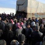 敘利亞內戰》關鍵大城三方夾擊 3萬5000難民受困土敘邊境