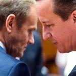 英國脫歐》卡麥隆拋出國安議題 18日歐盟峰會關鍵一戰