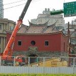 工程進度大幅超前》忠孝橋引橋主體拆除完成 北門古蹟再展歷史光芒