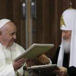天主教與東正教打破千年寒冰 教宗與牧首古巴歷史會面