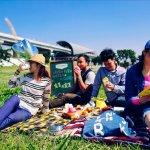 一起享受春天草地的溫度,親愛的 野餐去!