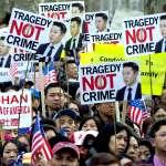 騰訊選文》如果誤殺的不是黑人而是華人呢?