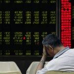 G20財長會前交易日 中國股市大跌逾6%
