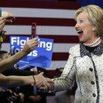 2016美國總統大選》壓倒性勝利!希拉蕊漂亮贏得南卡初選,聲勢大旺迎戰「超級星期二」