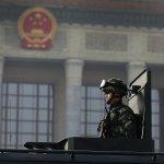 中國政協、人大兩會3日北京揭幕 公安武警持槍巡邏