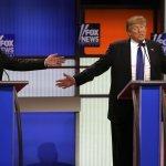 2016美國總統大選》共和黨辯論 「反川普」陣線猛攻川普:政見搖擺不定