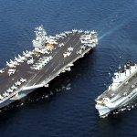 遏阻中國軍事擴張 美軍「史坦尼斯號」航空母艦打擊群駛進南海