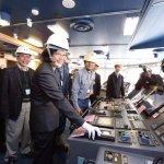 蔡英文產業之旅到高雄 參訪造船業再次宣示「國艦國造」