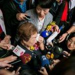 要求日本道歉、賠償 慰安婦阿嬤陳蓮花的眼淚滴落國際媒體