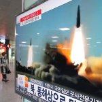 「發動機伴著震天動地的轟鳴聲猛烈吐出巨大的火舌」北韓進行固體火箭發動機試驗