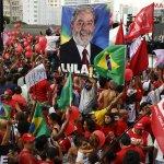 政治比奧運還熱!支持魯拉民眾出籠 巴西55城上演「挺政府」遊行
