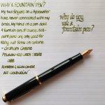 鋼筆練字好療癒 網路「曬字」成風 出現10萬人社團