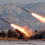 3月份第4次!北韓今向日本海發射5枚新型火箭砲