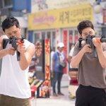 《太陽的後裔》在首爾市中心街道取景,男演員宋仲基和晉久兩人在此揮汗狂奔