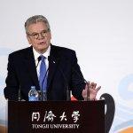 踢館!德國總統訪問中國 上海公開演講批判共產黨統治