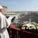教宗方濟各復活節文告:世間衝突恐攻不斷,要靠愛與善意對話化解
