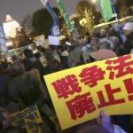 安保法制生效》日本37城市出現反對示威 近4萬人包圍國會抗議