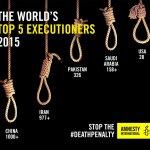 2015年全球死刑處決暴增 台灣榜上有名 國際特赦組織:殺戮必須停止