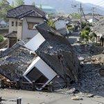 熊本大地震》16日再傳規模7.3餘震 至少28人罹難、近千人受傷