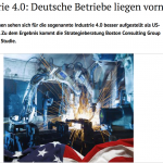 漢諾威工業展》德國將推動制定工業4.0全球化標準