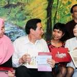 訪視東南亞主題書店 馬英九:移工是朋友,沒有身分問題