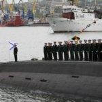 俄羅斯太平洋艦隊一退役核動力潛艦起火